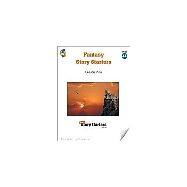 On The Mark Press Fantasy Story Starters Grades 4-6 Language Arts Workbook, Grade 4 - Grade 6 [eBook]