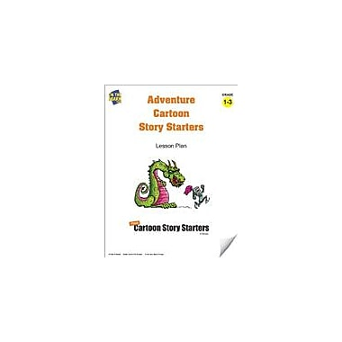 On The Mark Press Adventure Cartoon Story Starters Grades 1-3 Language Arts Workbook, Grade 1 - Grade 3 [eBook]