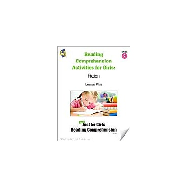 On The Mark Press Reading Comprehension Activities For Girls: Fiction Grade 2 Language Arts Workbook, Grade 1 - Grade 3 [eBook]