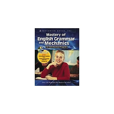 Prestwick House - Manuel Mastery of English Grammar and Mechanics An Individualized Program, sec. 3 à 5, [livre numérique]