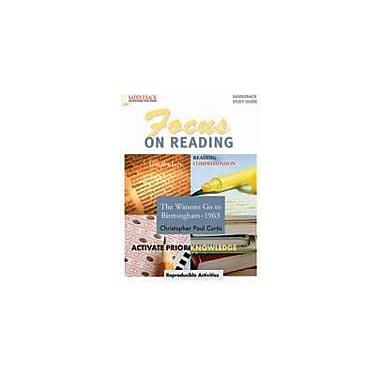 Saddleback Educational Publishing The Watsons Go to Birmingham Focus On Reading Study Workbook [Enhanced eBook]