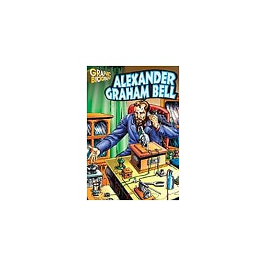 Saddleback Educational Publishing Alexander Graham Bell Graphic Biography History Workbook, Grade 5 - Grade 12 [eBook]
