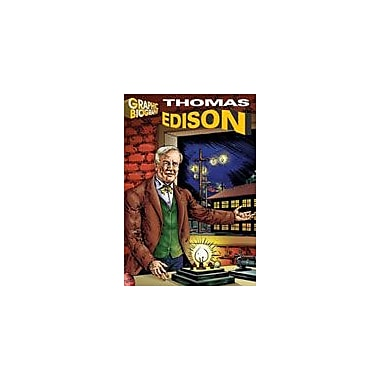 Saddleback Educational Publishing Thomas Edison Graphic Biography History Workbook, Grade 5 - Grade 12 [Enhanced eBook]