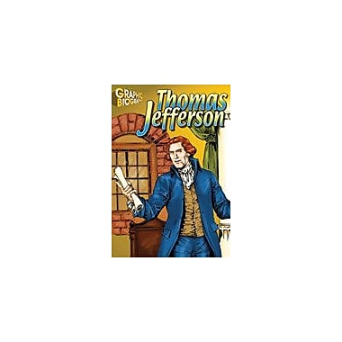Saddleback Educational Publishing Thomas Jefferson Graphic Biography History Workbook, Grade 5 - Grade 12 [eBook]