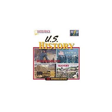 Saddleback Educational Publishing U.S. History Binder 1 History Workbook, Grade 6 - Grade 12 [Enhanced eBook]