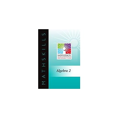 Saddleback Educational Publishing Smart Board E-Lessons For Algebra 2: Dividing Polynomials Using Synthetic Division [eBook]