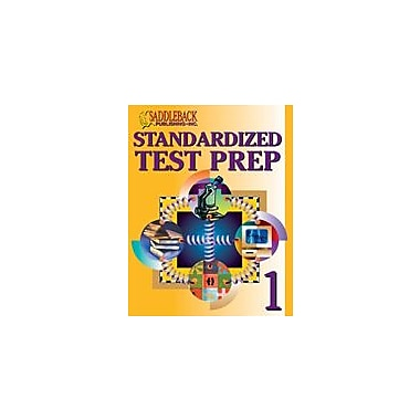 Saddleback Educational Publishing Standardized Test Prep 1 Test Prep Workbook, Grade 5 - Grade 12 [eBook]