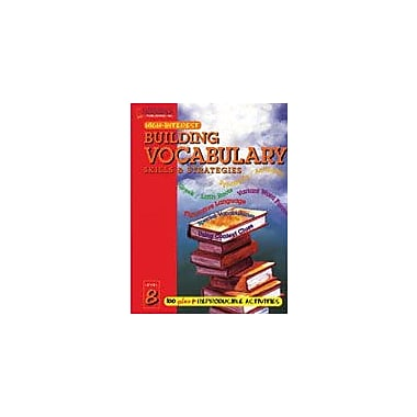 Saddleback Educational Publishing Building Vocabulary Skills and Strategies Level 8 Workbook [Enhanced eBook]