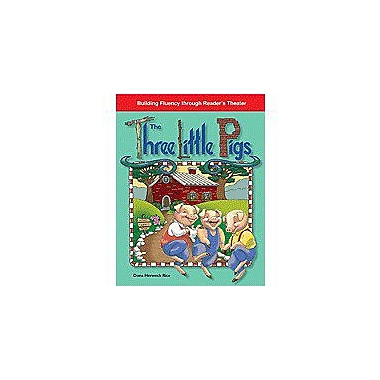 Shell Education Reader's Theater Folk and Fairy Tales: the Three Little Pigs Workbook, Kindergarten - Grade 1 [Enhanced eBook]