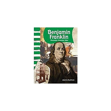 Shell Education Benjamin Franklin: Pensador, Inventor, Lider (Benjamin Franklin: Thinker, Inventor, Leader) Workbook [eBook]