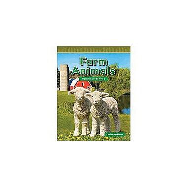 Shell Education Math Readers Level K: Farm Animals Language Arts Workbook, Preschool - Grade 1 [Enhanced eBook]