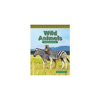 Shell Education Math Readers Level K: Wild Animals Language Arts Workbook, Preschool - Grade 1 [Enhanced eBook]