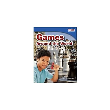 Shell Education Games Around the World Reading & Writing Workbook, Grade 3 [eBook]