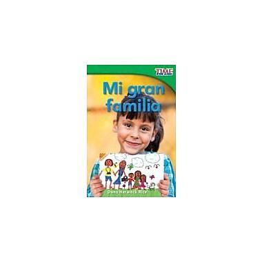 Shell Education Mi Gran Familia (My Big Family) Reading & Writing Workbook, Grade 1 [eBook]