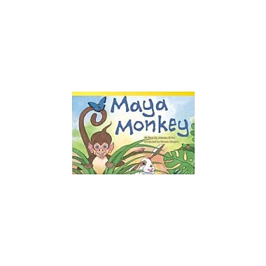 Shell Education Maya Monkey Reading & Writing Workbook, Grade 1 [eBook]