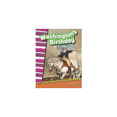 Shell Education Washington's Birthday Social Studies Workbook, Grade 2 [eBook]