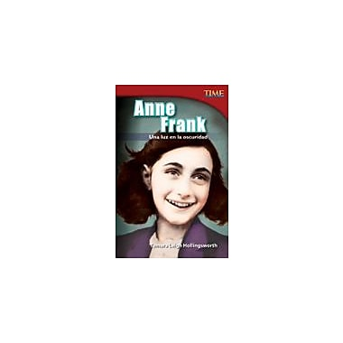Shell Education Anne Frank: Una Luz En La Oscuridad (Anne Frank: A Light In the Dark) Workbook, Grade 4 [eBook]