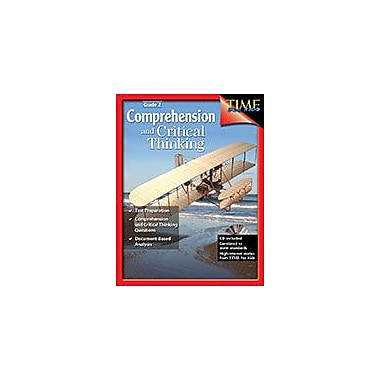 Shell Education Comprehension and Critical Thinking Language Arts Workbook, Grade 2 [eBook]