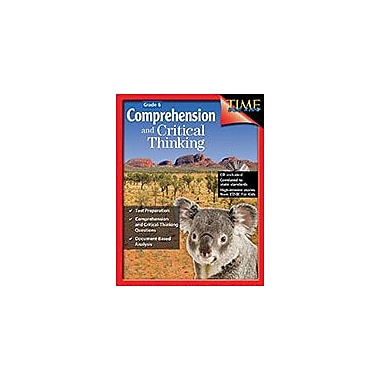 Shell Education Comprehension and Critical Thinking Language Arts Workbook, Grade 6 [eBook]
