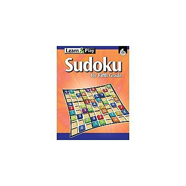 Shell Education Learn & Play Sudoku Grade 5 Puzzles Workbook, Grade 5 [eBook]