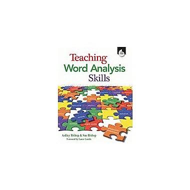 Shell Education Teaching Word Analysis Skills Language Arts Workbook, Kindergarten - Grade 12 [eBook]