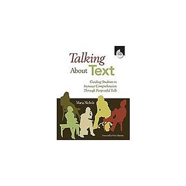 Shell Education Talking About Text Language Arts Workbook, Kindergarten - Grade 12 [eBook]