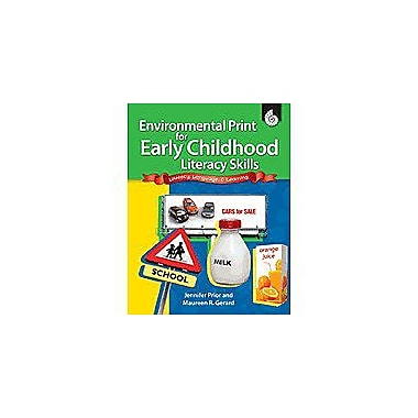 Shell Education Environmental Print For Early Childhood Literacy Skills Workbook, Preschool - Grade 2 [Enhanced eBook]