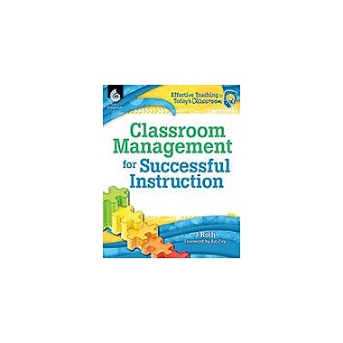 Shell Education Classroom Management For Successful Instruction Teacher Planning Workbook, Kindergarten - Grade 12 [eBook]