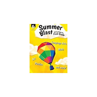 Shell Education Summer Blast: Getting Ready for First Grade Reading & Writing Workbook, Kindergarten - Grade 1 [eBook]