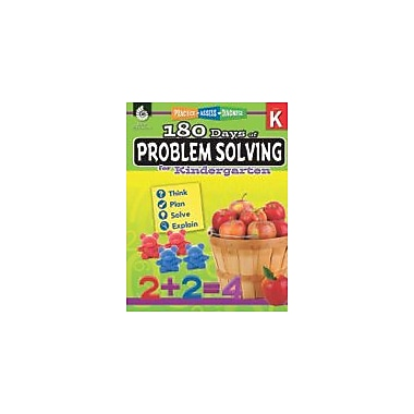 Shell Education 180 Days of Problem Solving For Kindergarten Problem Solving Workbook, Kindergarten [eBook]