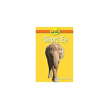 Shell Education Short Ee Language Arts Workbook, Kindergarten [eBook]