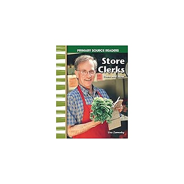 Shell Education Store Clerks Then and Now Social Studies Workbook, Grade 1 - Grade 2 [eBook]