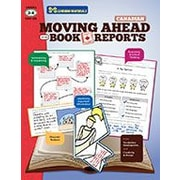 S & S Learning Moving Ahead With Book Reports Grades 3-4, Canadian Problem Solving Workbook, Grade 3 - Grade 4 [eBook]