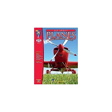 S & S Learning All About Planes Physical Education Workbook, Grade 2 - Grade 3 [eBook]