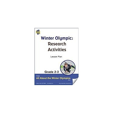 S & S Learning Winter Olympic Research Activities Gr. 2-3 Lesson Plan Physical Education Workbook, Grade 2 - Grade 3 [eBook]