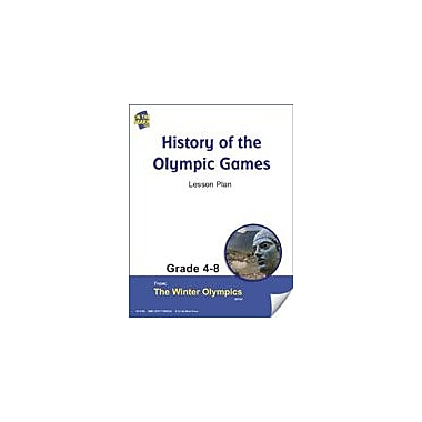 S & S Learning History of the Olympic Games Lesson Plan Physical Education Workbook, Grade 4 - Grade 8 [eBook]