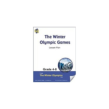 S & S Learning Winter Olympic Games Lesson Plan Physical Education Workbook, Grade 4 - Grade 8 [eBook]