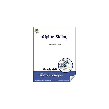 S & S Learning Alpine Skiing Lesson Plan Physical Education Workbook, Grade 4 - Grade 8 [eBook]