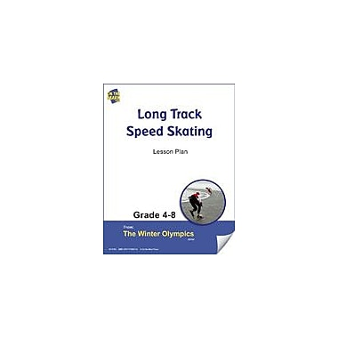 S & S Learning Long Track Speed Skating Lesson Plan Physical Education Workbook, Grade 4 - Grade 8 [eBook]