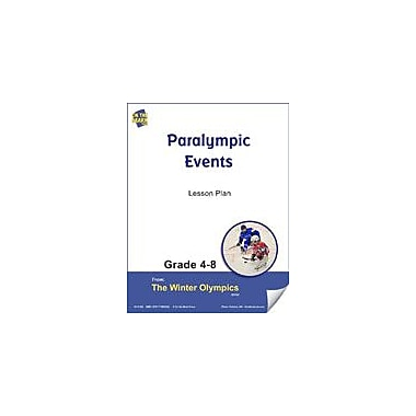 S & S Learning Paralympic Events Lesson Plan Physical Education Workbook, Grade 4 - Grade 8 [eBook]