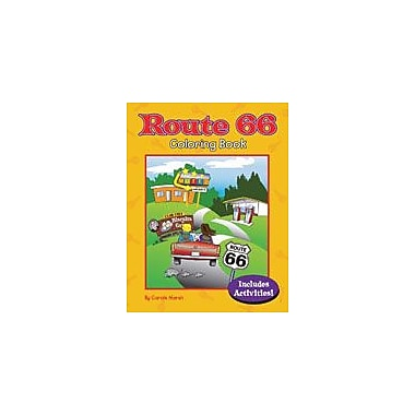Gallopade International Route 66 Coloring Book Workbook, Kindergarten - Grade 2 [eBook]