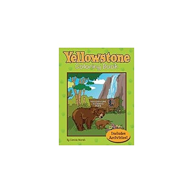 Gallopade International Yellowstone National Park Coloring and Activity Book Workbook, Kindergarten - Grade 2 [eBook]
