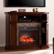 Darby Home Co Patrizio Infrared Media Electric Fireplace