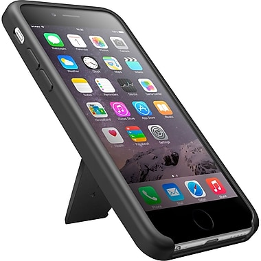IK Multimedia iKlip Case & Multi-Angle Viewing Stand for iPhone 6 Plus/6s Plus, Black