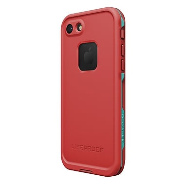 LifeProof - Étui Fre pour iPhone 7, Ember, rouge/sarcelle (7753991)