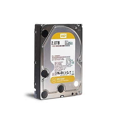 WD – Disque dur interne WD Gold Datacentre, 2 To, SATA, 6 Gbit/s, 3,5 po (WD2005FBYZ)