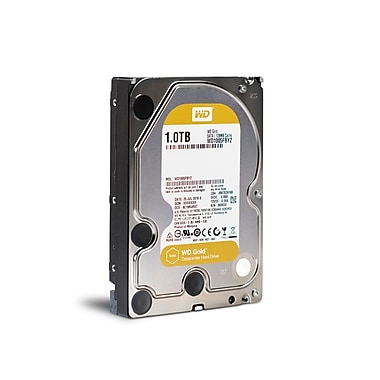 WD Gold 1 TB Datacenter Internal Hard Drive, SATA, 6 GB/s, 3.5