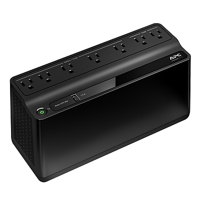 APC Back-UPS 650VA 7 Outlet 1 USB Port Battery Backup (BN650M1)