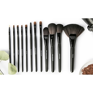 All Dolled Up Professional Makeup Brush Set - 12 Pieces for $11.99 @ Staples