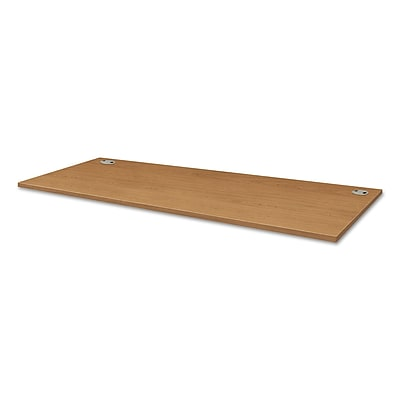HON® Voi® Rectangular Worksurface, 48w X 24d, Harvest